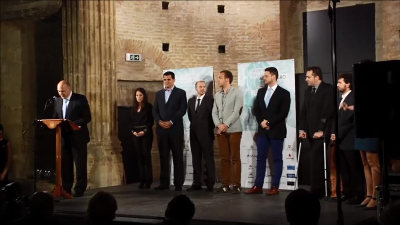 Gala Premios AJE Andalucía, Métrica6, desarrollo de producto, ingeniería, innovación, I+D+i
