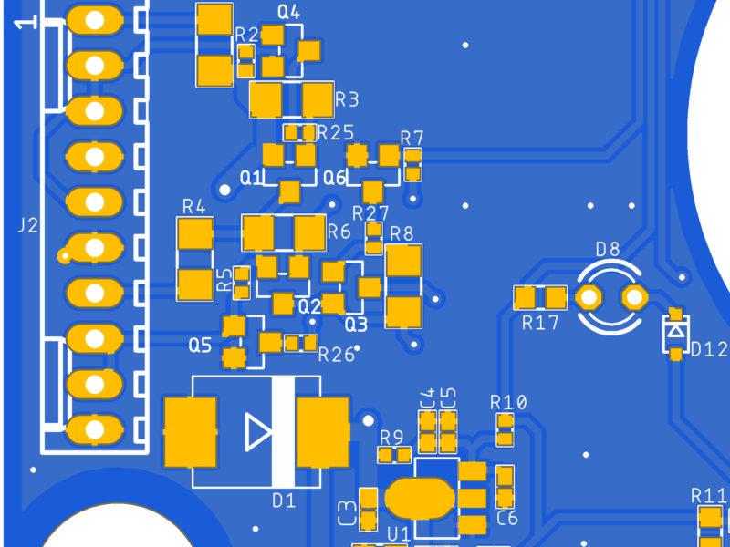 Rediseño de placa electrónica de control para su industrialización. Ingeniería, desarrolo de producto, Métrica6, I+D+i, innovación