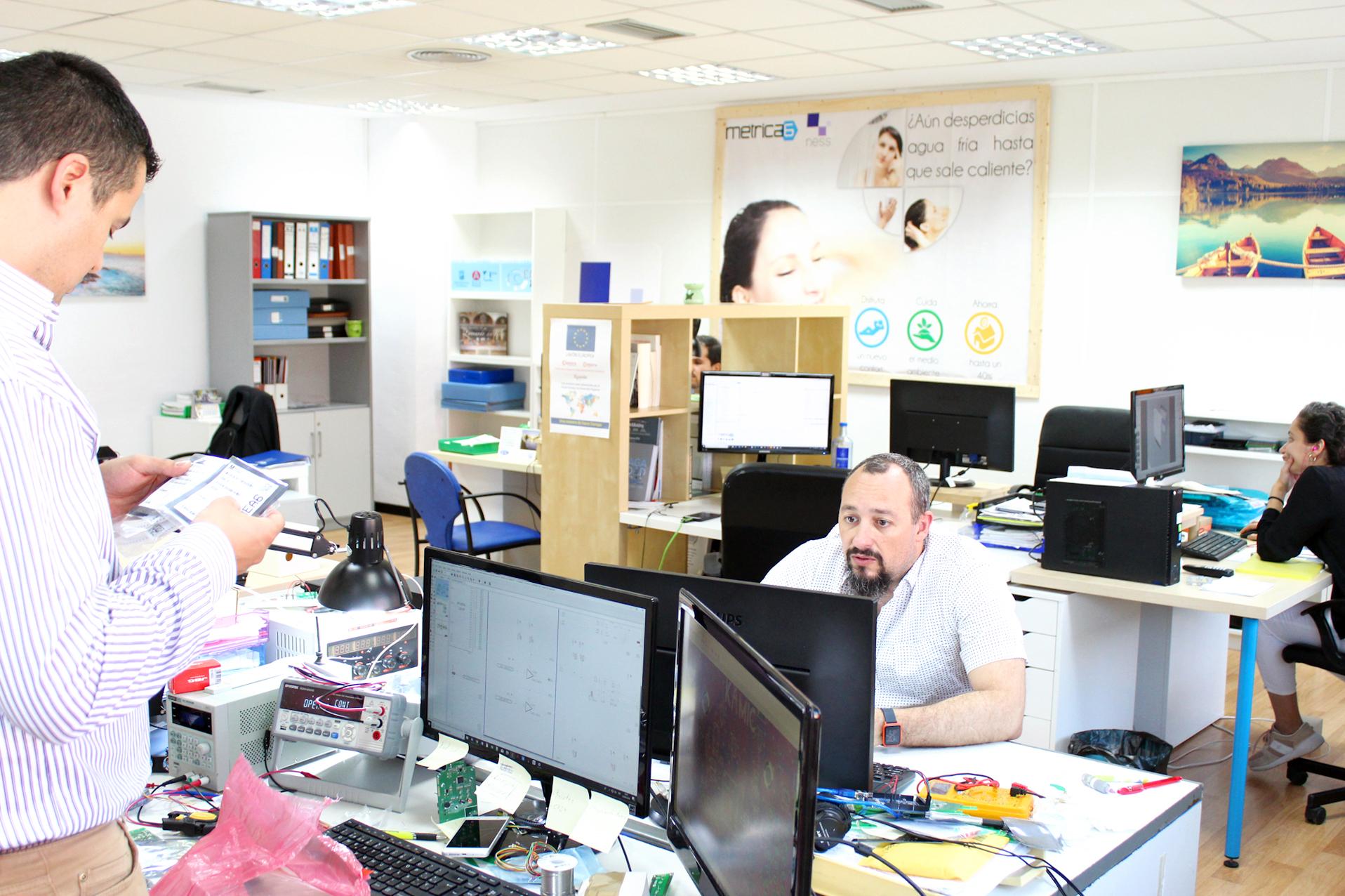 Oficina de Métrica6 Diseño de producto, desarrollo, I+D+i, innovación, ingeniería, consultoría