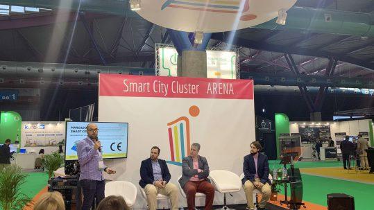 Presentación de Métrica6 en el Smart City Cluster ARENA de Greencities.